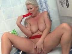 Big saggy mature tits are fun to fondle videos