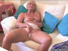 Scenes of sexy mature babes masturbating lustily videos