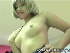 Schoolgirl strips and blows a fat priest movies at lingerie-mania.com