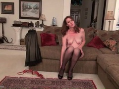 Classy milf in a beautiful evening gown movies at kilogirls.com