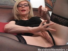 Pornstar nina hartley shows you her wet cunt movies at find-best-mature.com