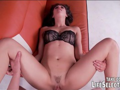 Lingerie modeling slut could really use your cock movies at freekilomovies.com