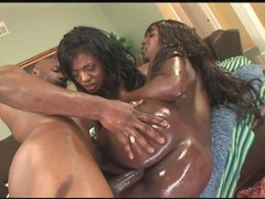 Slippery ladies fucked by a fit black guy movies at find-best-panties.com