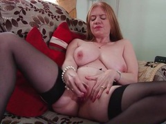Saggy tits mature slowly masturbates her cunt movies at find-best-lesbians.com