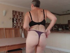 Granny sexpot models a brand new thong movies at find-best-videos.com