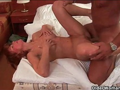 Fit mature redhead is an incredible fuck clip