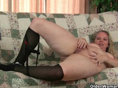 Why is it that milfs love wearing pantyhose? videos