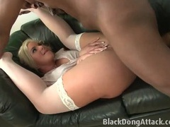 Phoenix marie fucked in her stockings and skirt videos