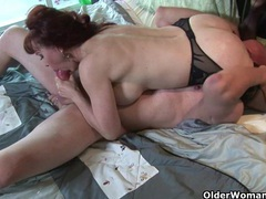 Mature milf loves a mouthful of cum after a good fuck movies at adspics.com