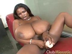 Massive black boobs babe miosotis sucks white dick movies at adipics.com