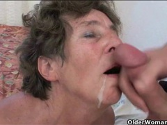 Cumshots flying in a mature compilation videos