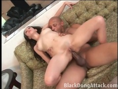 His bbc makes her hurt in a hot anal fuck movies at kilosex.com