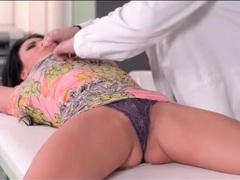 Kinky md ties his patient and plays with her body videos