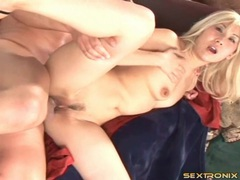 Blonde asian hammered in the ass and cunt tubes at sgirls.net
