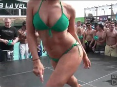 Bikini dance contest with a bevy of babes movies at sgirls.net