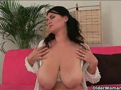 Sultry bbw strips and plays with her fresh pussy movies at sgirls.net
