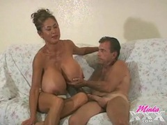 Old guy gets to suck the tits of minka movies at adspics.com