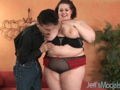 Bbw in a polka dot bra turns him on movies at kilopics.net