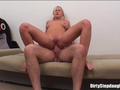 Pigtails girl takes his cock into her ass videos
