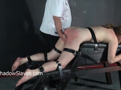Hellpain whipping and feet spanking of punished amateur slave janna movies at sgirls.net