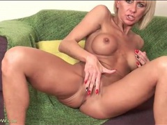 Finger fucking milf has a naughty labia piercing movies at dailyadult.info