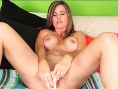 Milf gets naughty with all her dildos videos