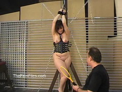 Kinky amateur bondage and whipping of lena movies at freekiloclips.com