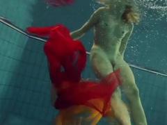 Skinny girl makes erotic underwater art movies at find-best-lingerie.com