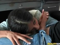 Dude whips out his dick for a sexy latina blowjob movies at kilopics.net