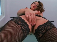 Black lingerie is breathtaking on sara luvv videos