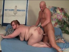 Nerdy bbw redhead fucked hard from behind videos