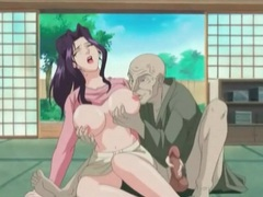 Dirty old man loves the taste of hentai cunt movies at find-best-pussy.com