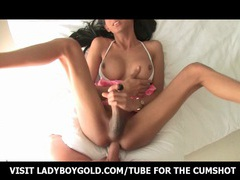 Ladyboy jame precum barebacking movies at kilotop.com