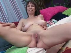 Sexy nude milf with big breasts and a bald pussy videos