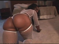 Fat ass black chicks in fishnets shake it movies at sgirls.net