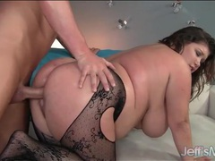 Fucked fat girl receives his hot load of cum movies at sgirls.net