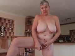 Wet granny cunt fucked by a pink dildo movies at freekilomovies.com