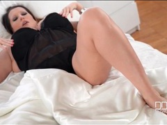 Get in bed with lingerie beauty laura orsolya movies at lingerie-mania.com