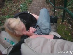 Bj and quick pov fucking in the park movies at freekiloporn.com