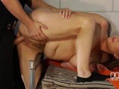 Curvy prisoner alex chance fucked by a guard videos