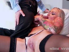 Erotic fucking of heavily tattooed pornstar kayla green movies at find-best-mature.com