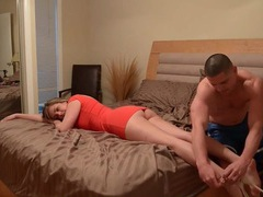 Smart man knows a massage will arouse his girlfriend videos