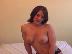 Curves are amazingly hot on this solo milf chick videos