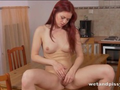 Firm body redhead pees and tastes her hot urine movies at kilomatures.com