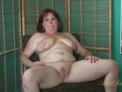 Chubby mature gives a naked interview movies at kilotop.com