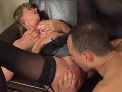 Eager young guy eats out and fucks her mature cunt movies at adipics.com