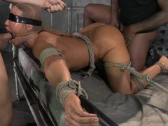 Servile milf ava devine bound and fucked like a sex slave videos