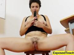 Madam teacher masturbating videos