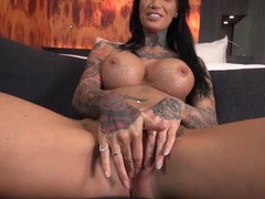 Pierced and inked babe with fake tits sucks a dick movies at find-best-mature.com