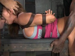 Bound ava devine fucked hard from both ends movies at find-best-lingerie.com